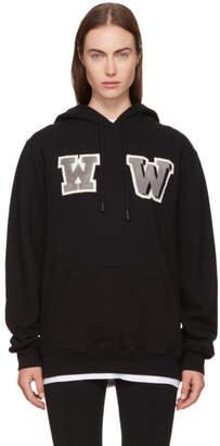 Off-White Black Oversized WW Hoodie
