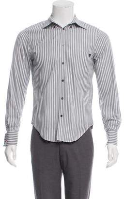 Alexander McQueen Striped French Cuff Shirt