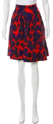 Marc by Marc Jacobs Silk Patterned Skirt