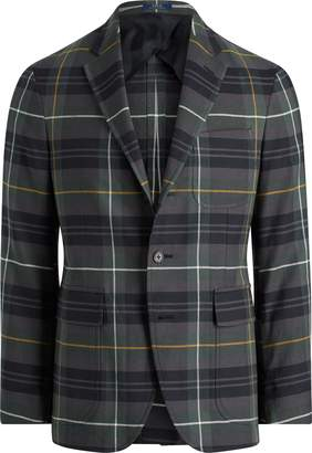 Ralph Lauren Morgan Tartan Twill Sport Coat