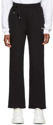 ADER error Black Straight Track Pants