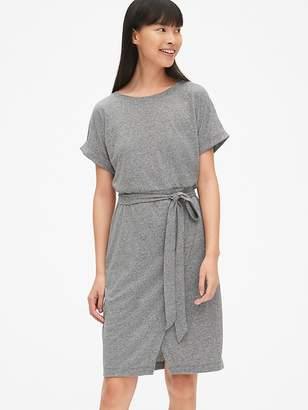 Gap Wrap T-Shirt Dress in Triblend Jersey