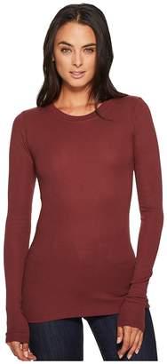 LAmade Long-Sleeve Crewneck Thermal Top Women's Long Sleeve Pullover
