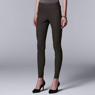 Vera Wang Women's Simply Vera Everyday Luxury Ultra Stretch Skinny Pants