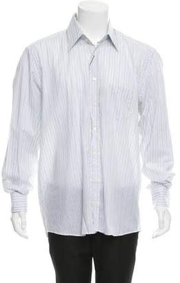 Dolce & Gabbana Striped Button-Up Shirt w/ Tags