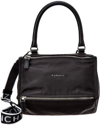 Givenchy Small Pandora 4G Nylon & Leather Shoulder Bag