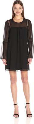 BCBGeneration Women's A-Line Dress with Flared Sleeves