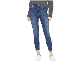 Mavi Jeans Tess High-Rise Super Skinny Jeans in Indigo Supersoft/Medium Blue