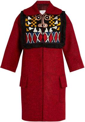 Stella Jean Pregare embroidered coat