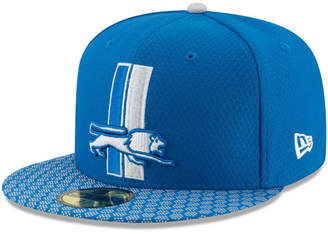 New Era Boys' Detroit Lions Sideline 59FIFTY Fitted Cap