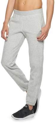 Tek Gear Women's Ultrasoft Fleece Banded-Bottom Mid-Rise Sweatpants