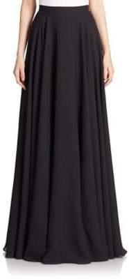 Teri Jon Chiffon Long Skirt