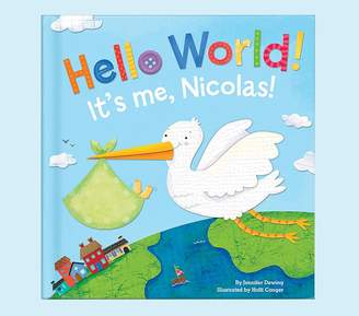 Pottery Barn Kids Hello World Personalized Book