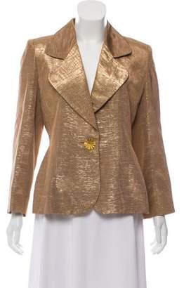 Givenchy Metallic Structured Blazer