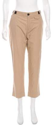Band Of Outsiders Mid-Rise Straight-Leg Pants