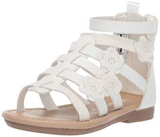 Carter's Girl's Flossie Flower Gladiator Sandal