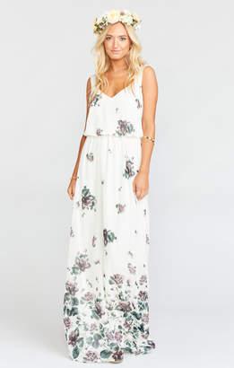 Show Me Your Mumu Kendall Maxi Dress ~ Floral Falls