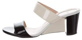 Fendi Patent Slide Sandals