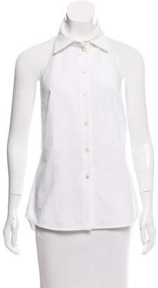 Stella McCartney Sleeveless Button-Up Top