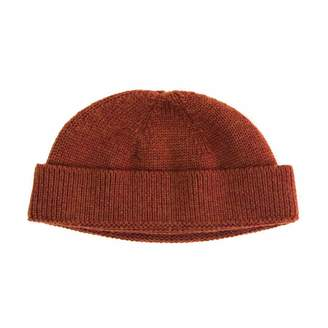 40 Colori - Rust Solid Wool Fisherman Beanie
