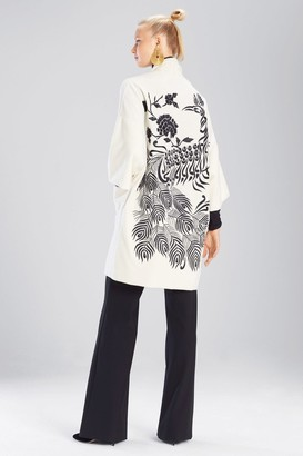 Natori Felt Wool Jacket