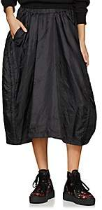 Comme des Garcons Women's Tech-Taffeta Drawstring Skirt - Black