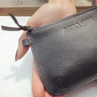 Aura Que Fairtrade Classic Leather Zip Coin Purse 35ed49cbe5bfa