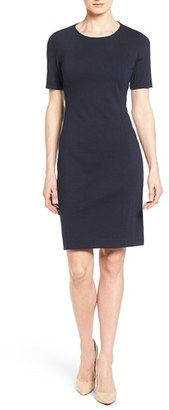 Women's T Tahari 'Judianne' Short Sleeve Sheath Dress $98 thestylecure.com