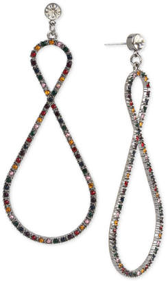 BCBGMAXAZRIA (ビーシービージーマックスアズリア) - Bcbg Hematite-Tone Crystal Confetti Twist Drop Earrings