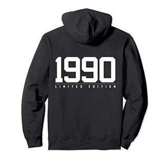 1990 Limited Edition 28th Birthday Gift Jersey Number Hoodie