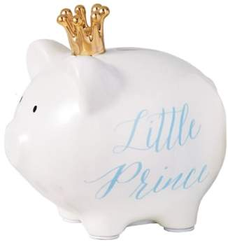 Mud Pie 'Little Prince' Ceramic Piggy Bank