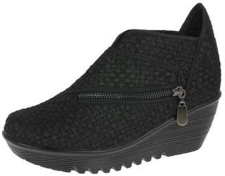Bernie Mev. Womens Zig Zag Shoes Metallic EU40