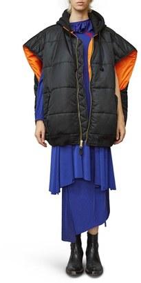 Women's Vetements Oversize Bomber Vest $1,890 thestylecure.com