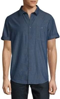 Calvin Klein Jeans Cotton Short Sleeve Sport Shirt