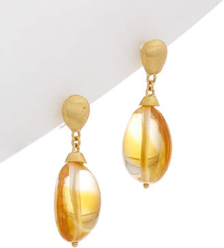 Marco Bicego Confetti 18K Yellow Gold Citrine Earrings