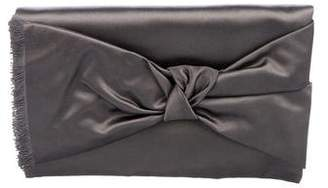 Michael Kors Satin Bow Clutch