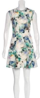 Rebecca Taylor Floral Print Mini Dress