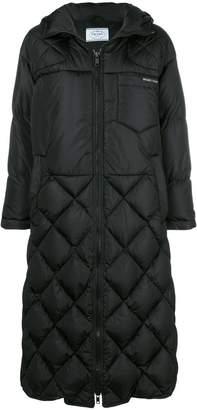 Prada long padded coat