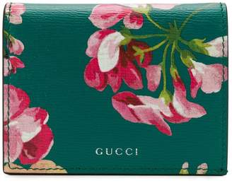 ab3a8d9b59c at Farfetch · Gucci Bloom print card case