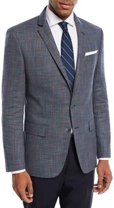 BOSS Hutson Windowpane Wool-Blend Sport Coat