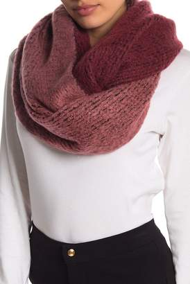 Melrose and Market Knit Woven Infinity Scarf