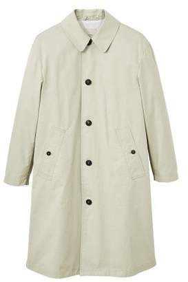 Mango man MANGO MAN Buttons cotton trench