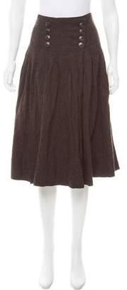 Pauw Wool Midi Skirt