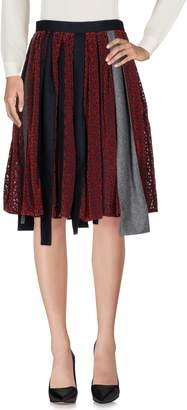 Kolor Knee length skirts