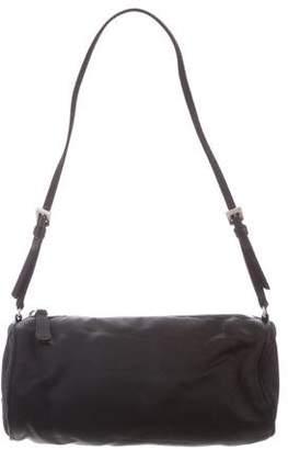 Prada Mini Satin Shoulder Bag
