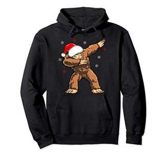 Dabbind Bigfoot Santa Hoodie Christmas Yeti Dab Sasquatch