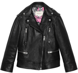 Children's leather biker jacket $2,500 thestylecure.com