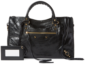 Balenciaga Classic City Medium Leather Satchel