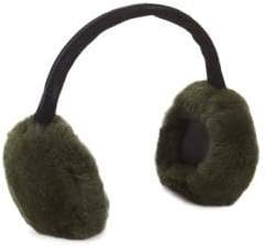 Dyed Rabbit Fur Ear Muffs
