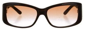 Jimmy ChooJimmy Choo Logo-Embellished Rectangular Sunglasses